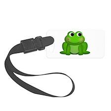 Cute Froggy Luggage Tag
