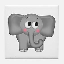 Adorable Elephant Tile Coaster