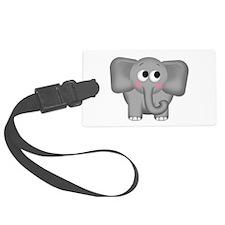 Adorable Elephant Luggage Tag