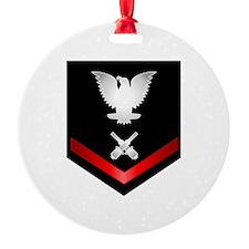 Navy PO3 Gunner's Mate Ornament