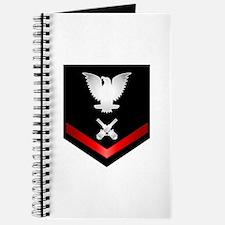 Navy PO3 Gunner's Mate Journal