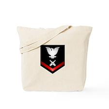 Navy PO3 Gunner's Mate Tote Bag
