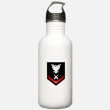 Navy PO3 Gunner's Mate Water Bottle