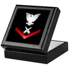 Navy PO3 Gunner's Mate Keepsake Box