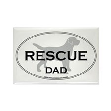 Rescue DAD Rectangle Magnet
