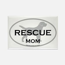 Rescue MOM Rectangle Magnet
