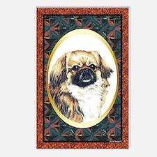 Tibetan Spaniel Designer Postcards (Package of 8)