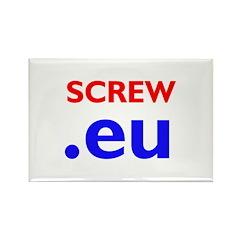 The Europhobe's Rectangle Magnet (10 pack)