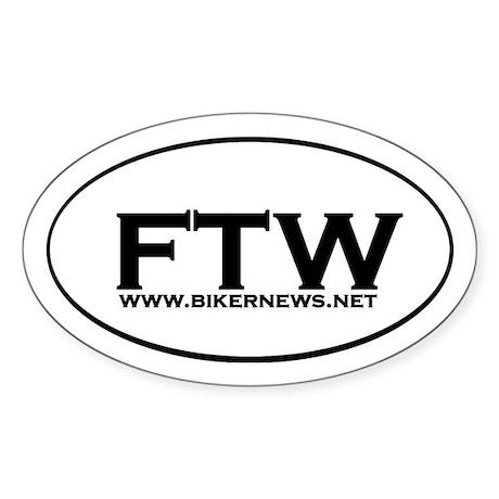 FTW Window Sticker