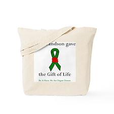 Grandson Donor Tote Bag