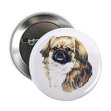 Tibetan Spaniel Tibbie Button