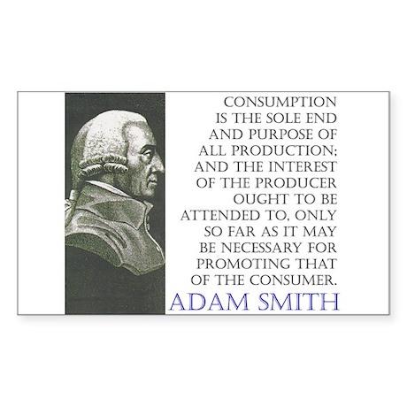 CONSUMPTION Sticker (Rect.)
