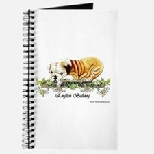 Vintage Bulldog Puppy Journal