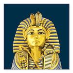 Tutankhamun Square Car Magnet 3
