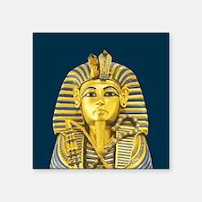 """Tutankhamun Square Sticker 3"""" x 3"""""""