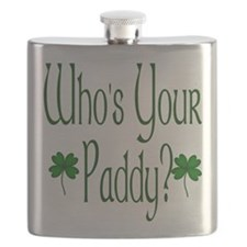 Who's Your Paddy? Flask