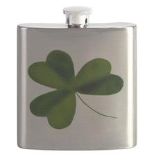 Simply Shamrock Flask