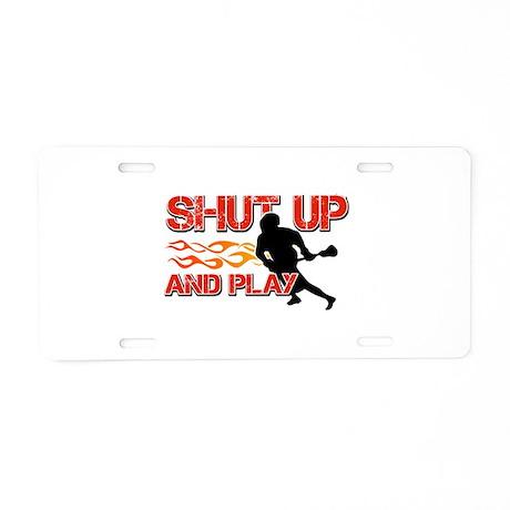 Cool Lacrosse Designs Aluminum License Plate