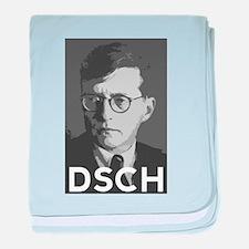 Cute Shostakovich baby blanket