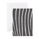 Zebra Print Greeting Cards (Pk of 10)
