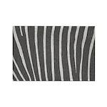 Zebra Print Rectangle Magnet (100 pack)