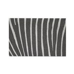 Zebra Print Rectangle Magnet (10 pack)