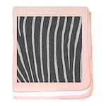 Zebra Print baby blanket