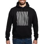 Zebra Print Hoodie (dark)