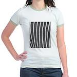 Zebra Print Jr. Ringer T-Shirt