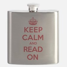 Keep Calm Read Flask