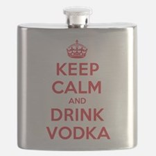 K C Drink Vodka Flask