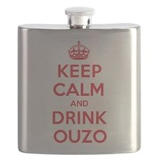K C Drink Ouzo Flask