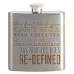 Marriage Re-Defined Flask