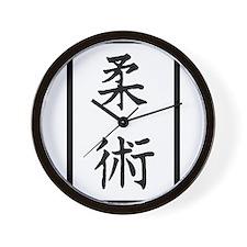Jiu-Jitsu Wall Clock