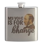 My Vote is For Change.png Flask
