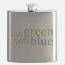 Live Green Vote Blue transparent.png Flask