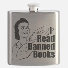 I Read Banned Books Transparent.png Flask