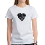 Zebra Print Women's T-Shirt