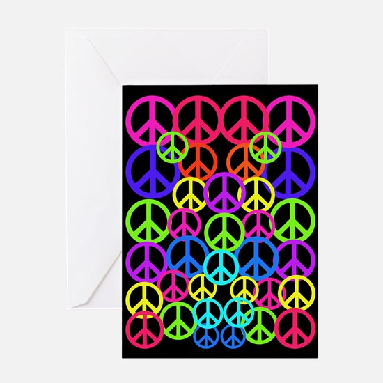 Peace Symbol FF.PNG Greeting Card