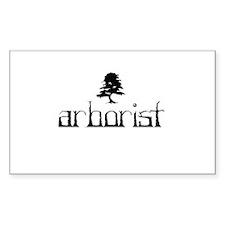Arborist - Crooked Decal