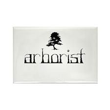 Arborist - Crooked Rectangle Magnet