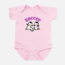 I Like Soccer (3) Baby Light Bodysuit