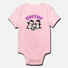 I Like Soccer (3) Infant Bodysuit
