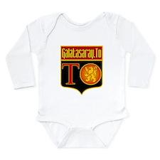 Unique Gris Long Sleeve Infant Bodysuit