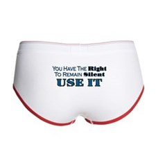 Remain Silent Women's Boy Brief