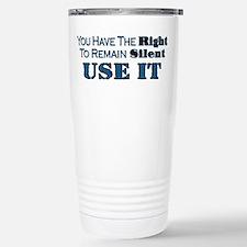 Remain Silent Travel Mug