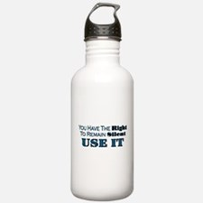 Remain Silent Water Bottle