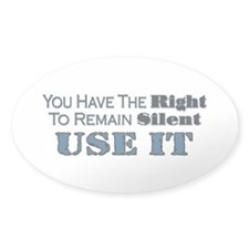 Remain Silent Decal