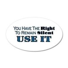 Remain Silent Wall Decal
