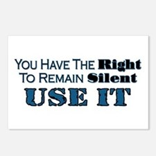 Remain Silent Postcards (Package of 8)